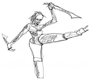 Dibujo con una sola línea