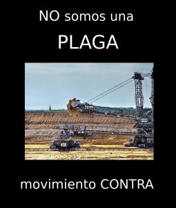 No somos una plaga: excavadora