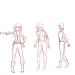 Kimi: hoja de personaje de Kimi