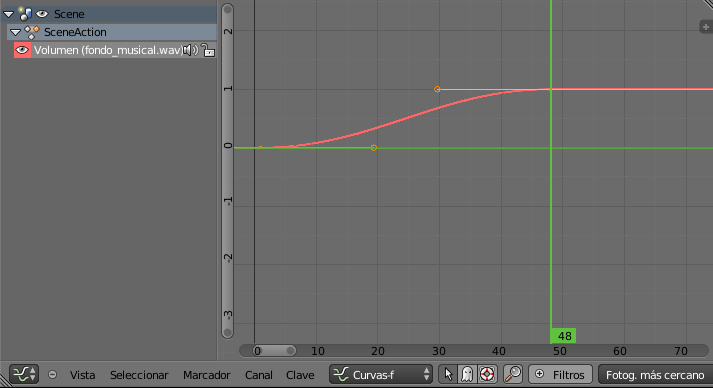 Editor de curvas FadeIn