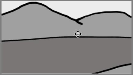 Capa izquierda del lienzo