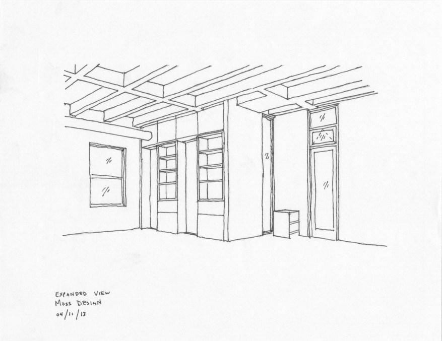 Vic Loft Sketch 02