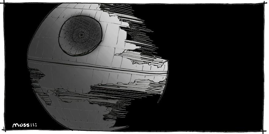 death star, architecture of star wars