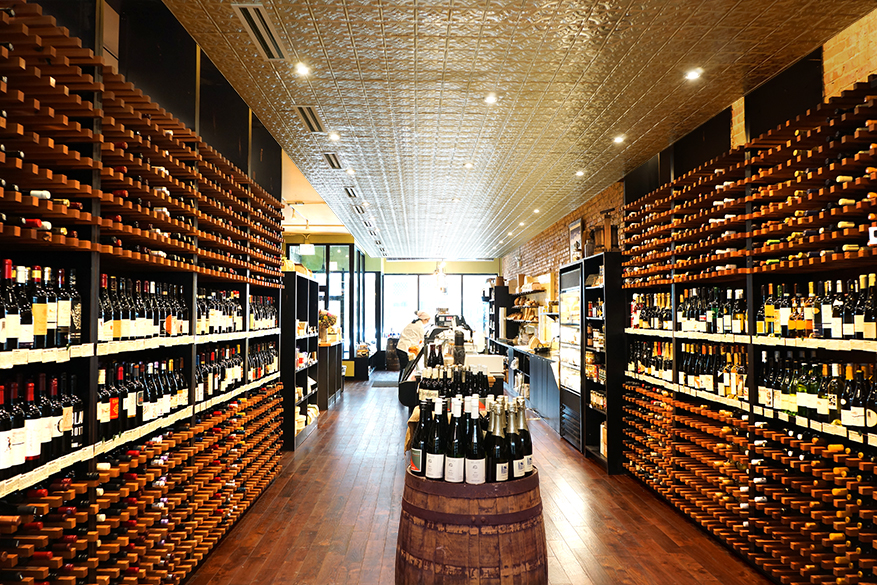 pastoral wine retail area