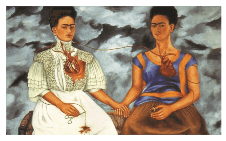 painting by Frida Kahlo