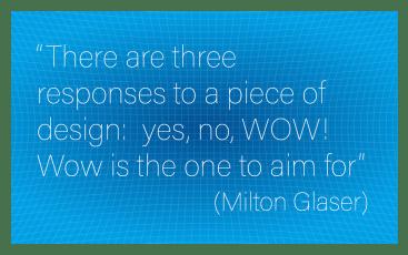 Sentence caption  by Milton Glaser