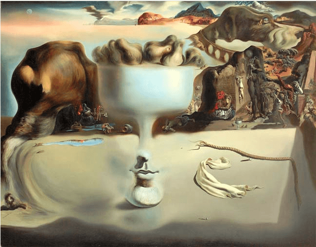 Salvador Dali picture relating to Pragnanz Principle application
