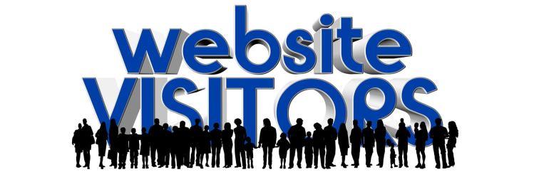 website visitors illustration
