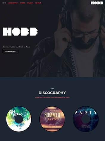 DJ website