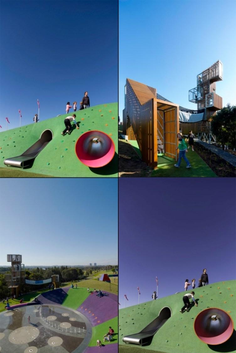 Blaxand Riverside Park Sydney Australia Architecture Outdoor Playground