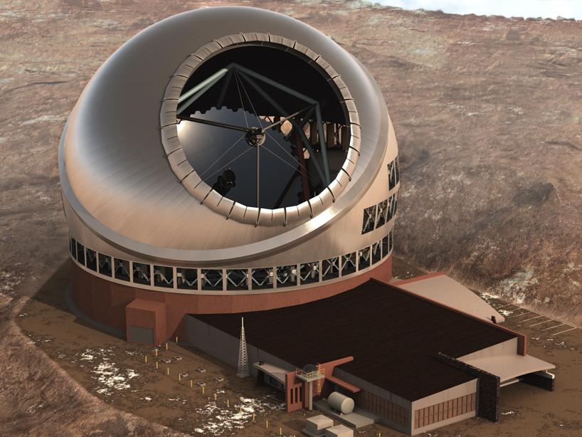 thirty-meter-telescope-TMT-designboom-01