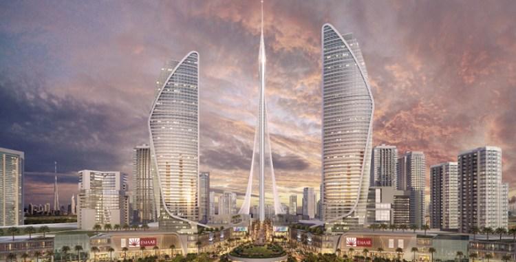 santiago-calatrava-dubai-creek-harbour-worlds-tallest-observation-tower-united-arab-emirates-designboom-01