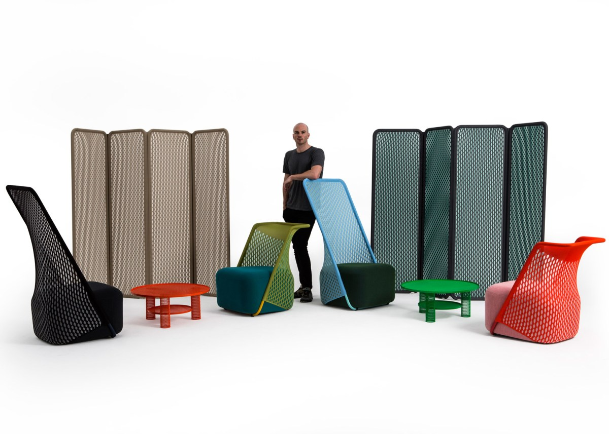 Cradle Furniture by Benjamin Hubert