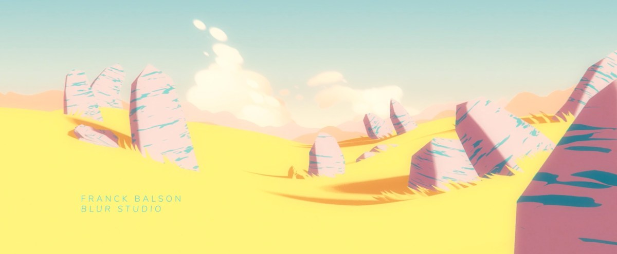 Beautifully Colorful and Surreal Opening Titles