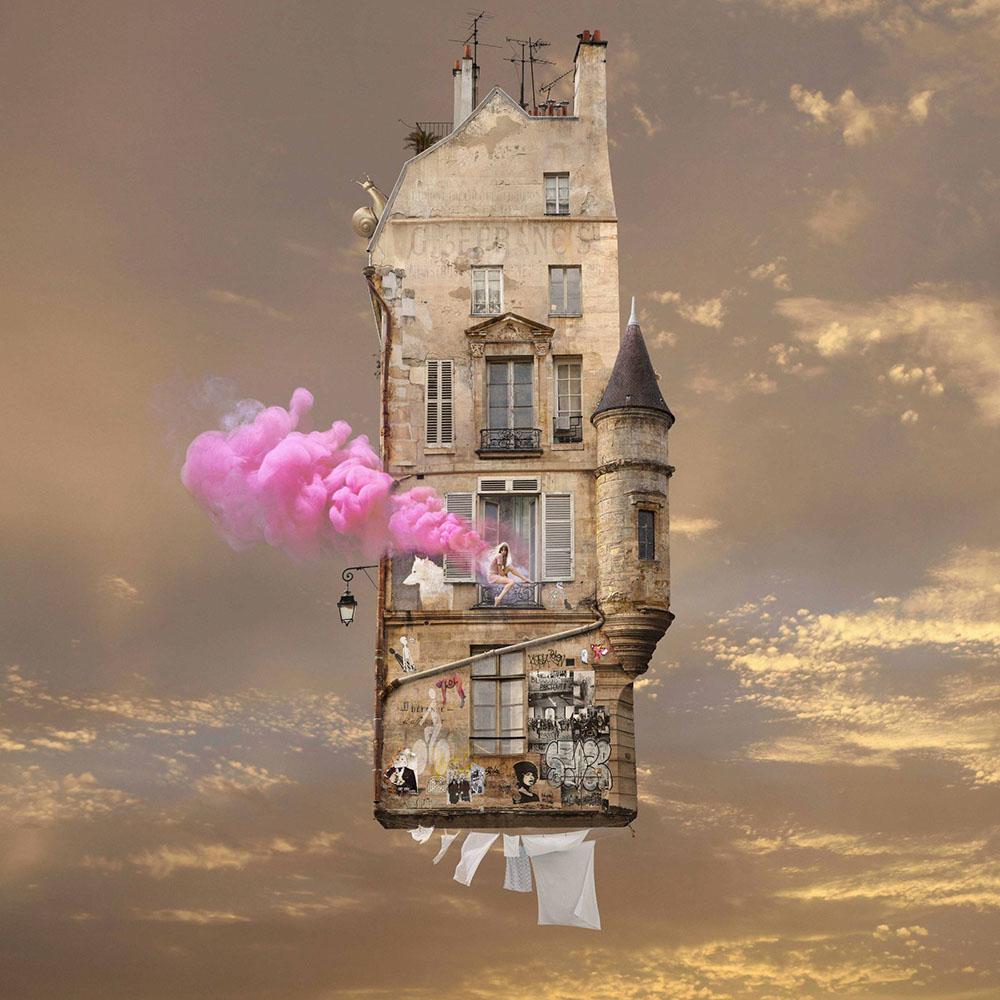 flying houses laurent moss and fog 1