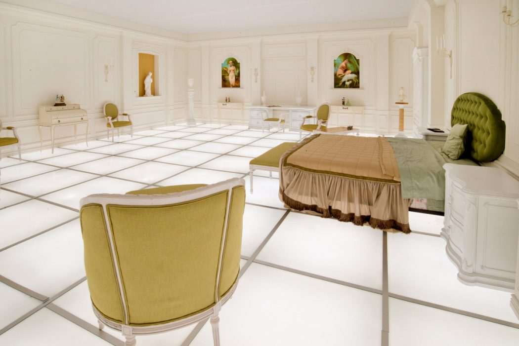 Simon Birch's perfect replica of the room in 2001: A Space Odyssey