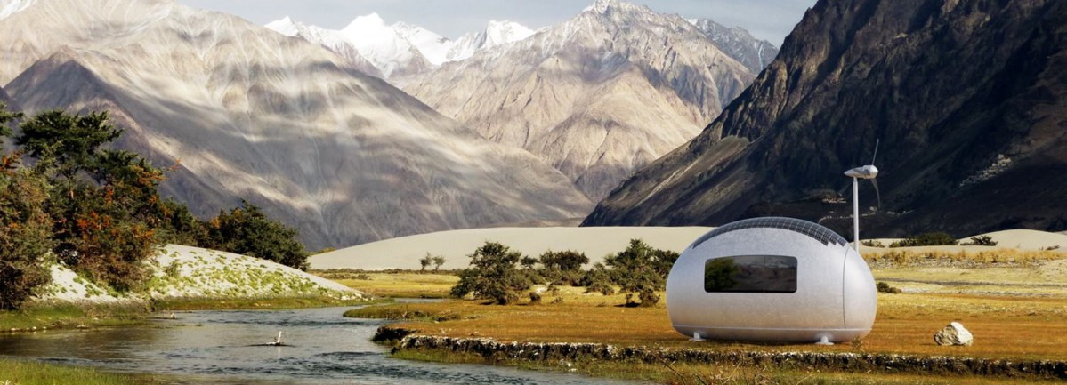 Ecocapsule is a Portable, Self Sustaining Mini Dwelling