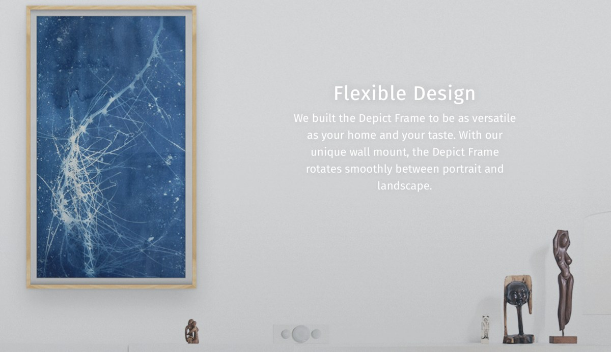 Depict 4K digital art frame