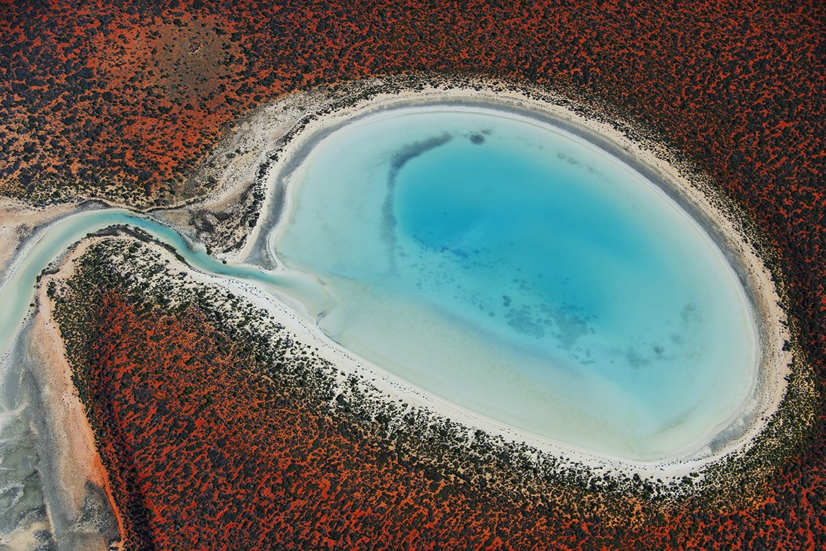 Australia's Shark Bay From Above