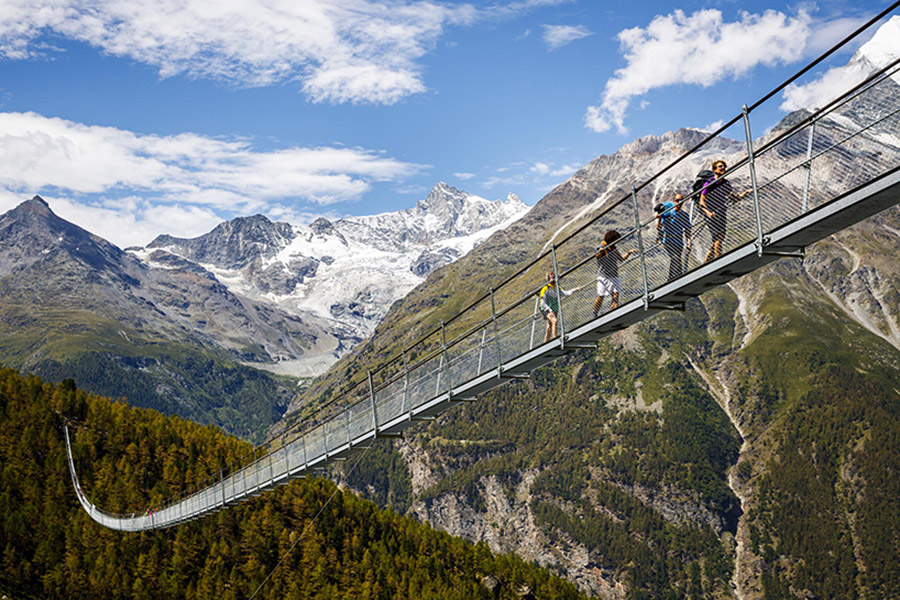 Take A Scenic Stroll On the Longest Pedestrian Suspension Bridge