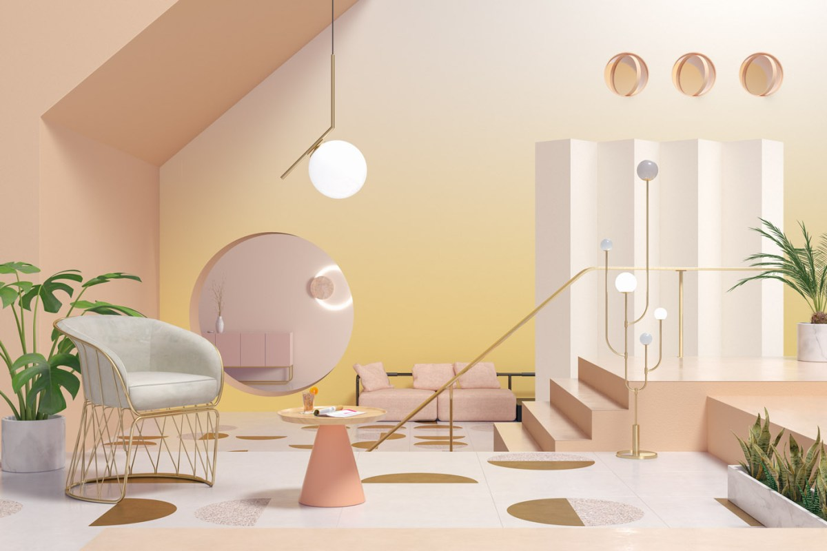 Intriguing Interior Design Explores the Seasons