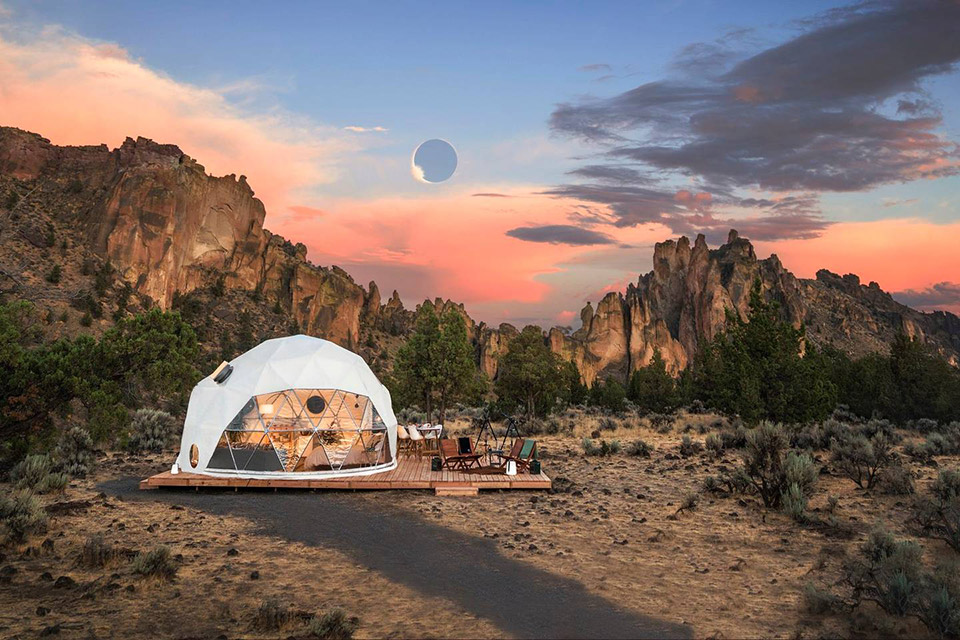 AirBnb's Amazing Solar Eclipse Stay