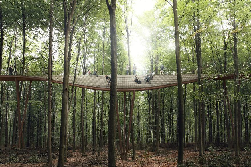 spiraling-treetop-walkway-effekt-denmark-moss and fog 5