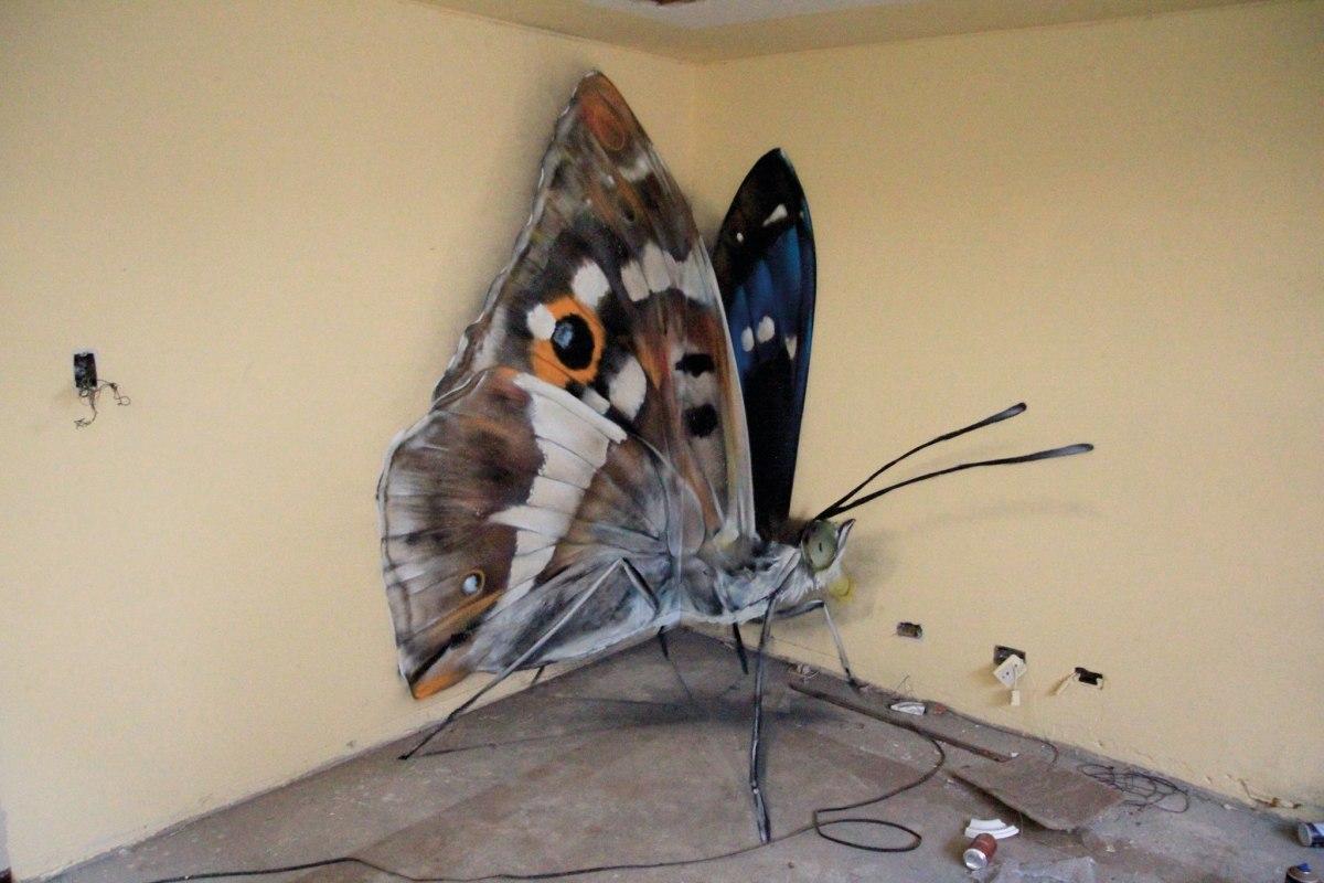 butterfly murals moss and fog 6