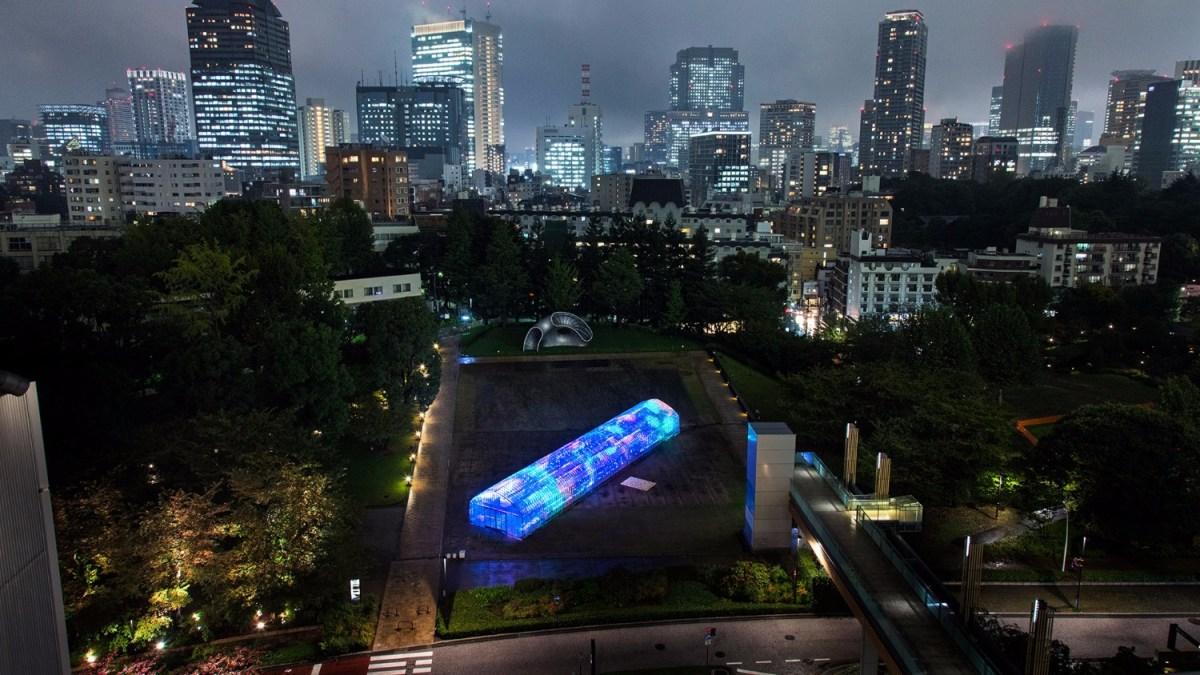 digital greenhouse in Tokyo