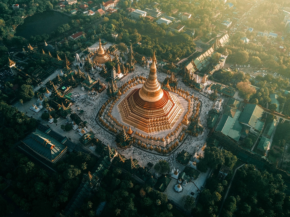 Myanmar's Temples From Above