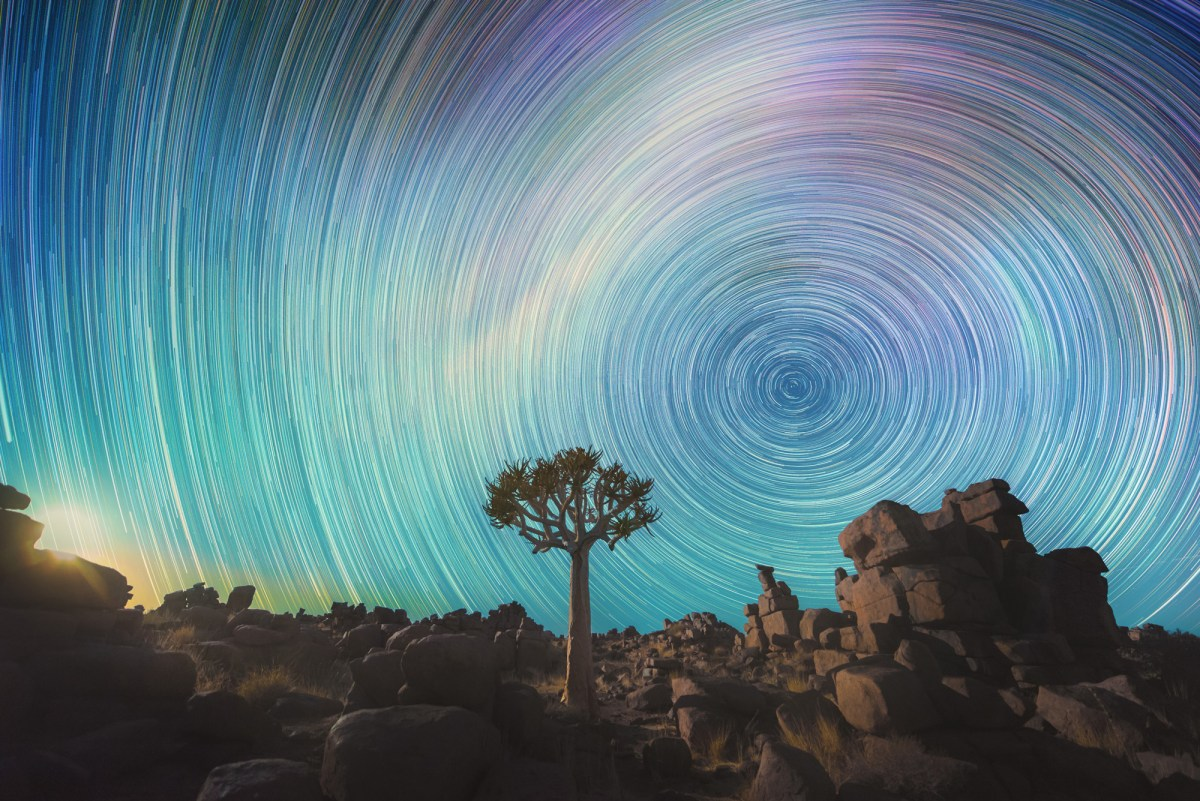 Stunning Namibian Night Sky