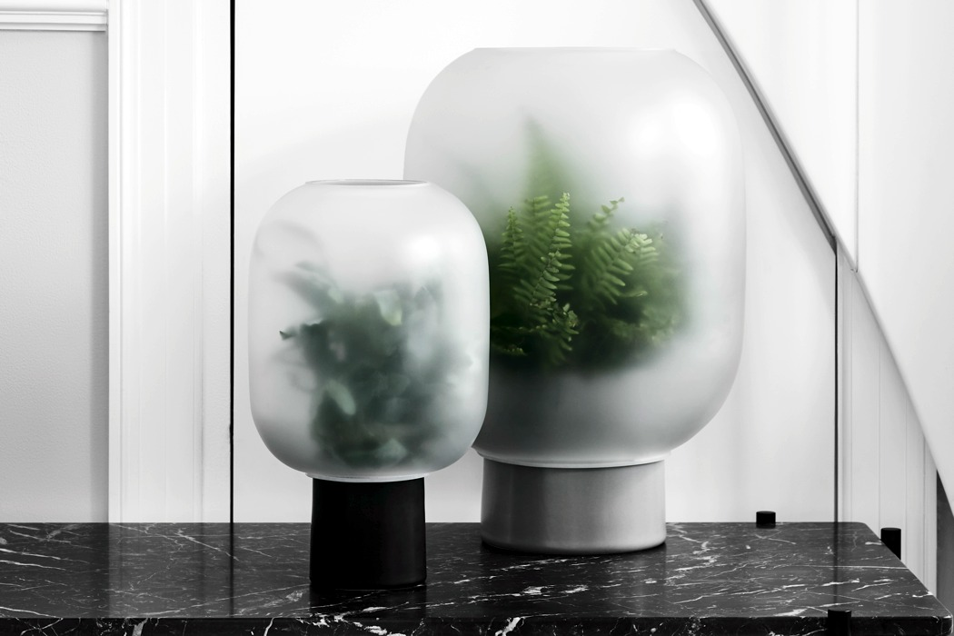 Houseplants Get Foggy In These New Planters