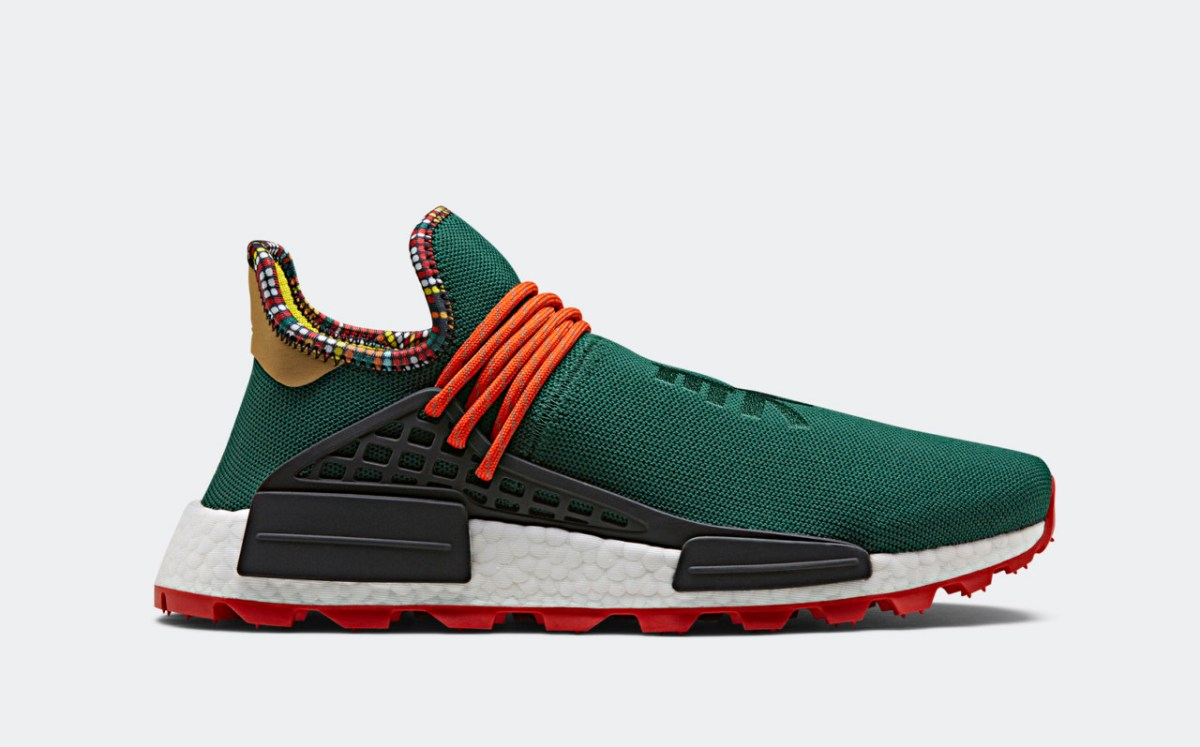 Pharrell's East African Inspired Adidas Collection