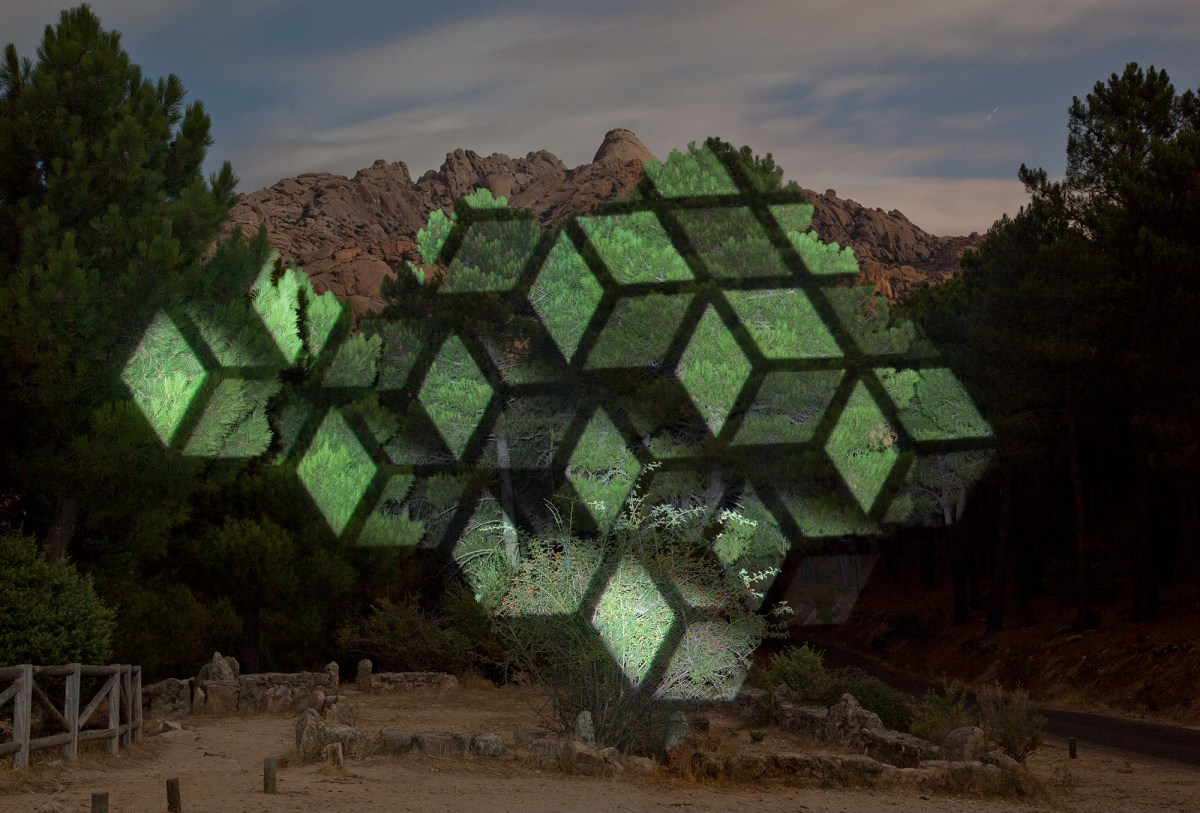 geometric projection mapping