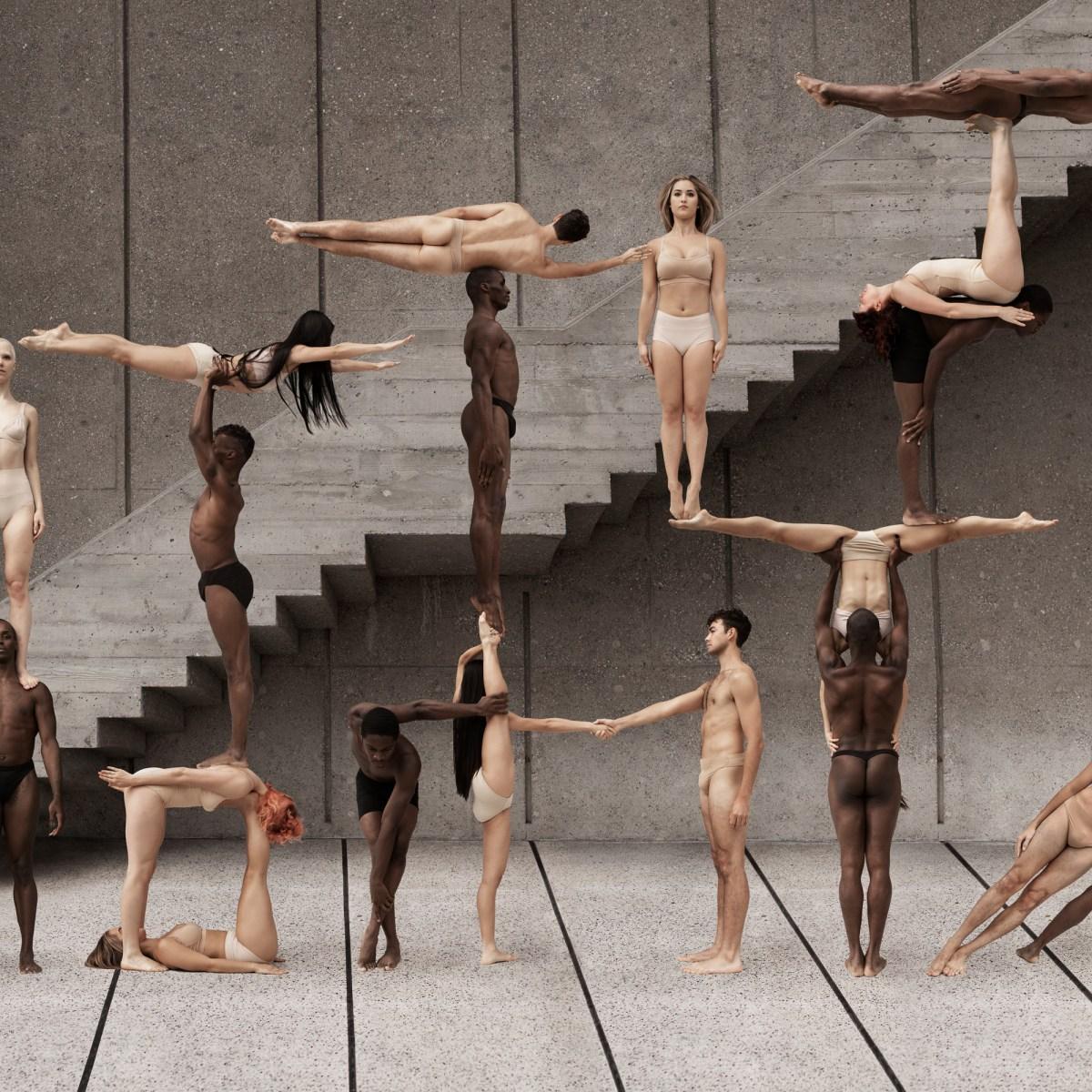 elegant body formations