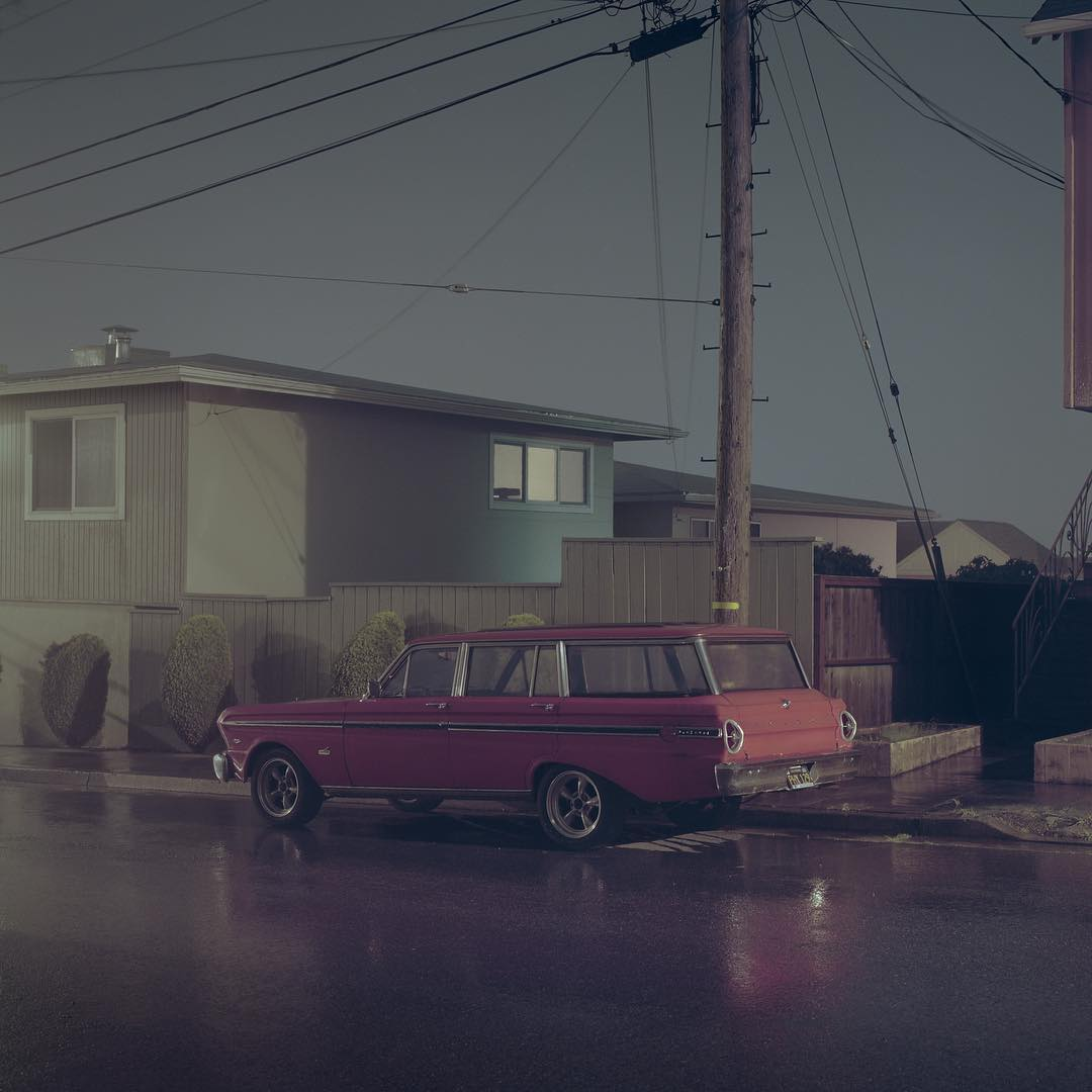 Christopher Soukup's Dark, Hazy California Dreaming