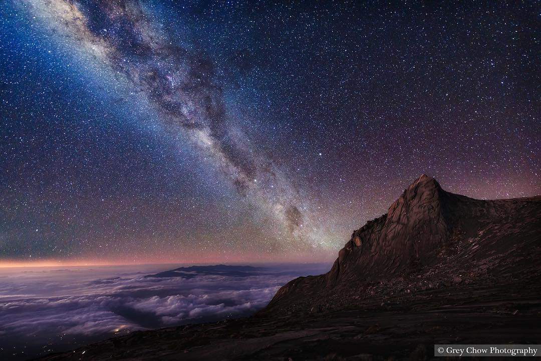 amazing starry sky photography