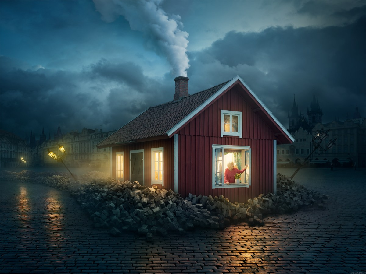 surrealist imagery from Erik Johansson