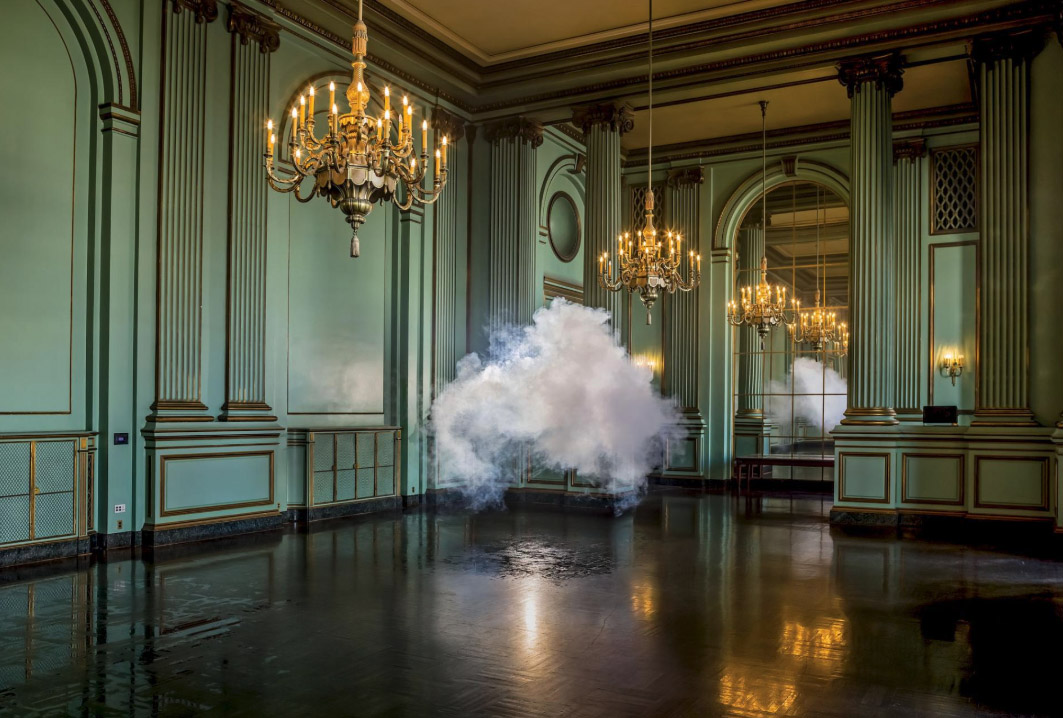 Unexpected Clouds by Berndnaut Smilde