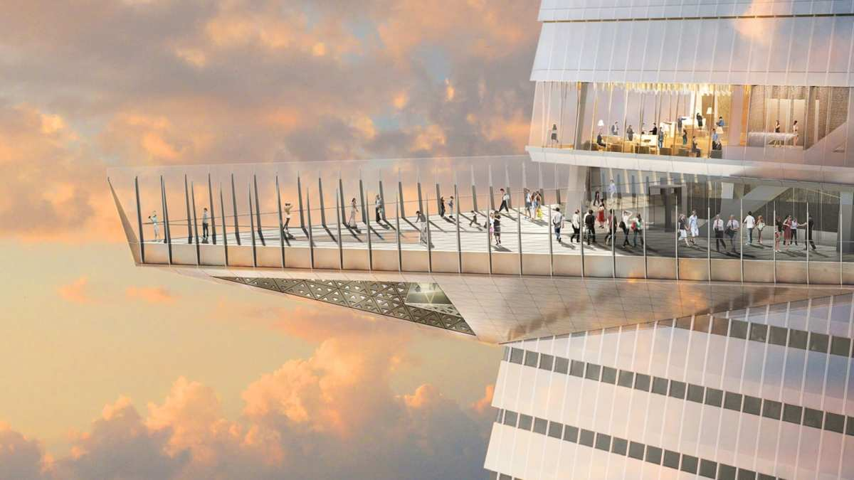 Hudson Yards To Feature 1,100 Foot High Glass 'Edge'