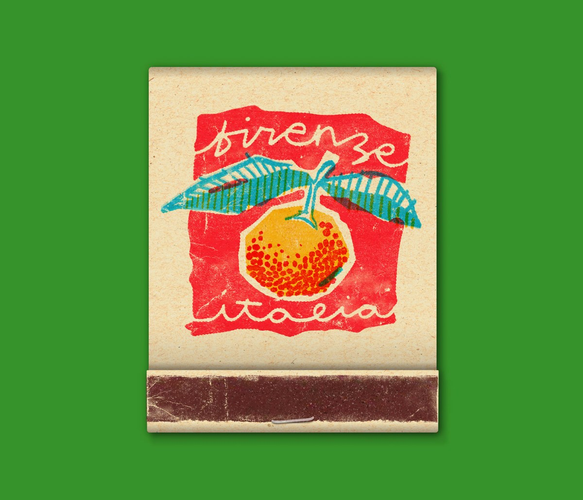 Illustrated Matchbooks Pay Homage To Italian Adventure