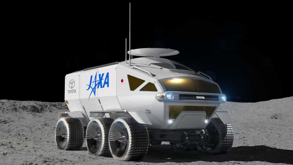 Toyota Teams Up With Japanese Space Agency for Lunar Rover Development