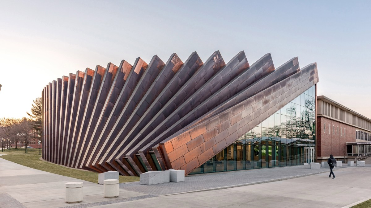 Domino Effect - A Cascading Building Facade