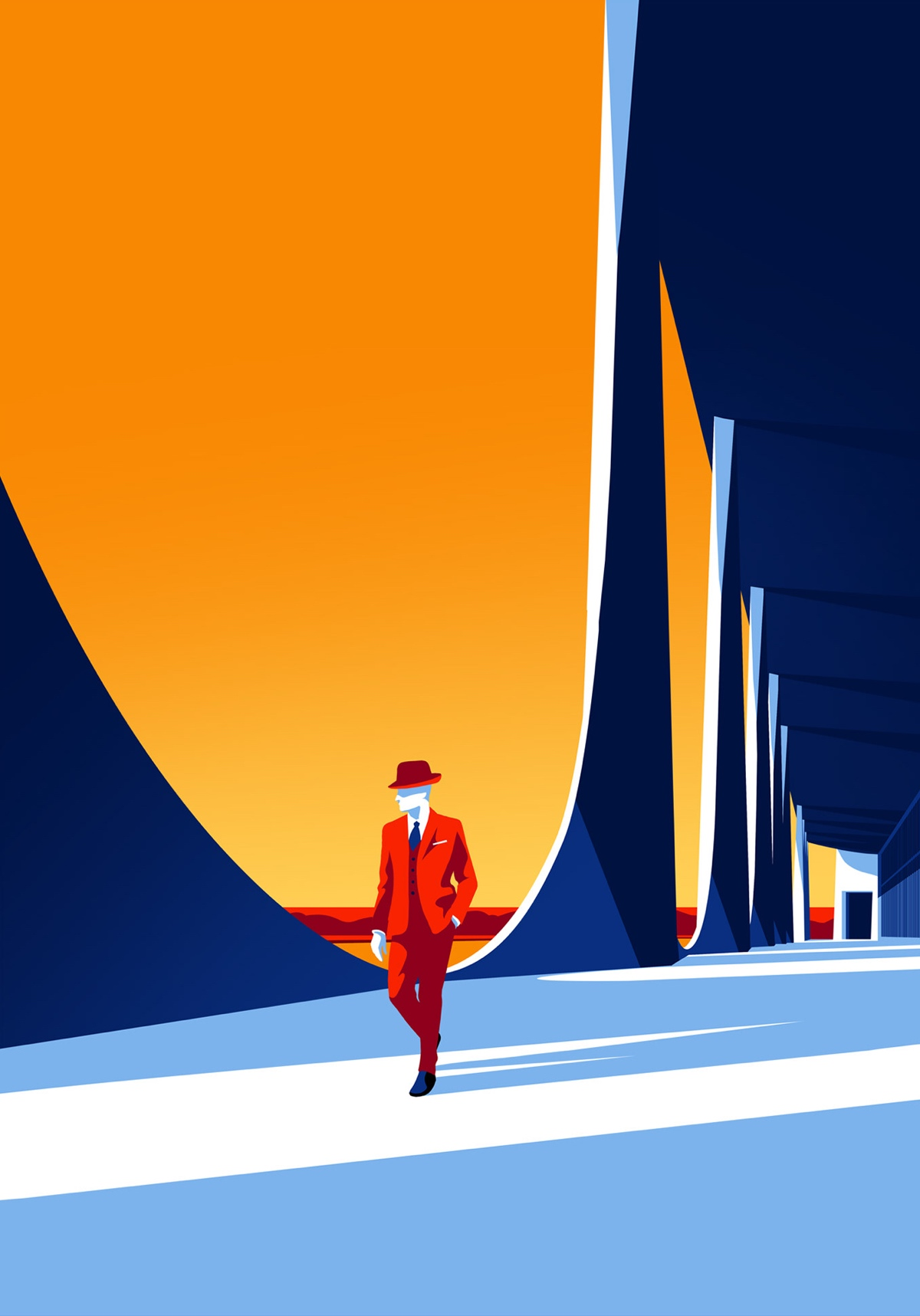 oscar-niemeyer-architecture-illustrations-levente-szabo-11