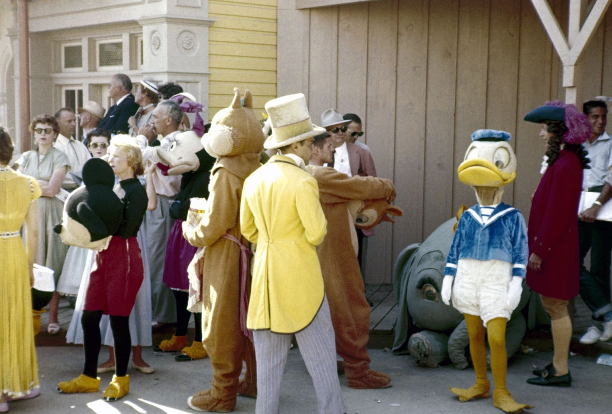 Parade For Disneyland Grand Opening