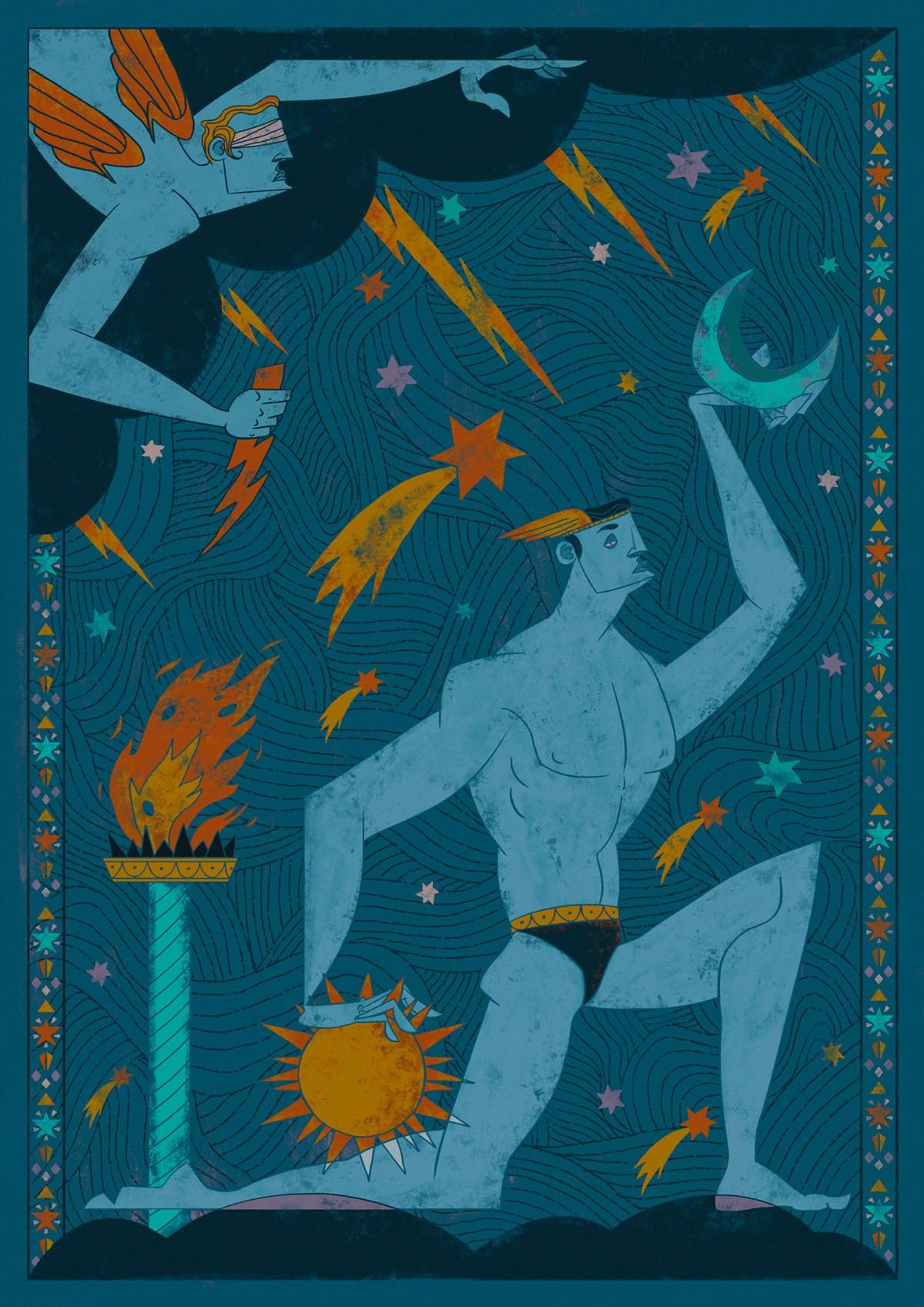 editorial illustrations -Mete Kaplan Eker