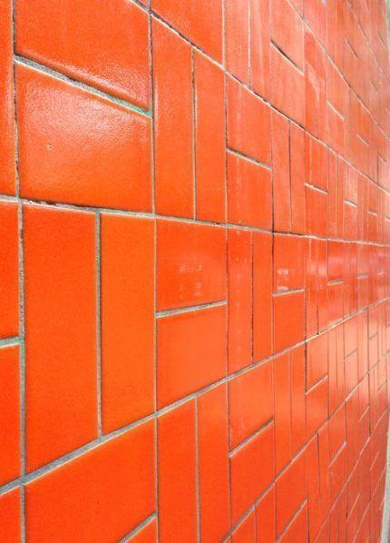 34+ Ideas for kitchen wall tiles orange #kitchen #wall