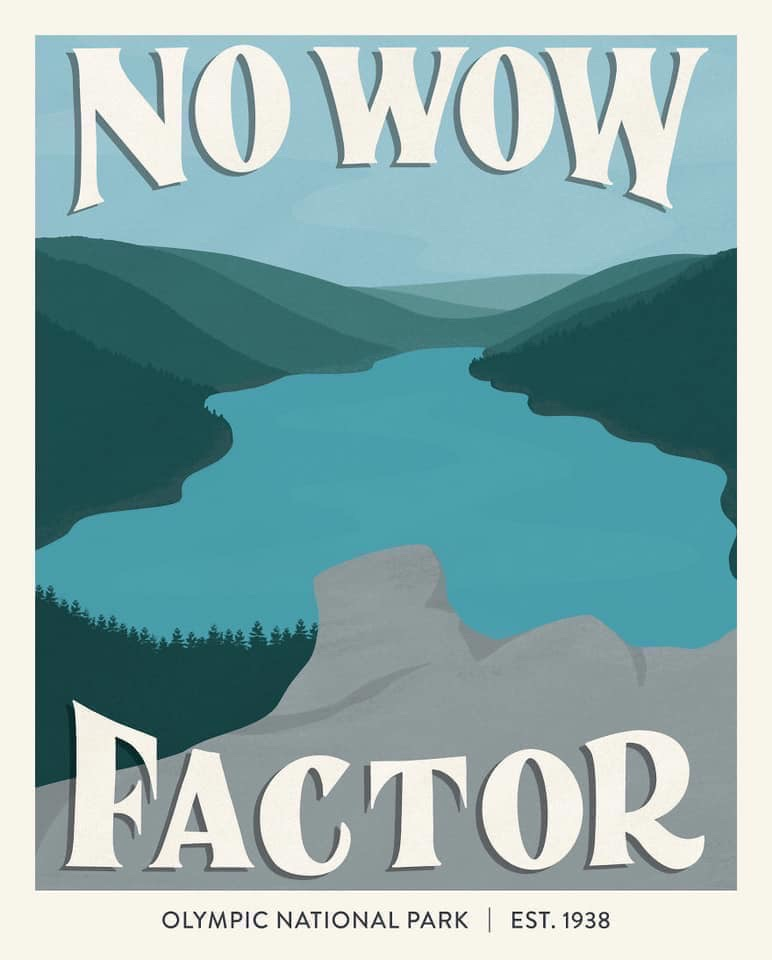 National Park Posters Based On Their Worst Yelp Reviews Moss And Fog