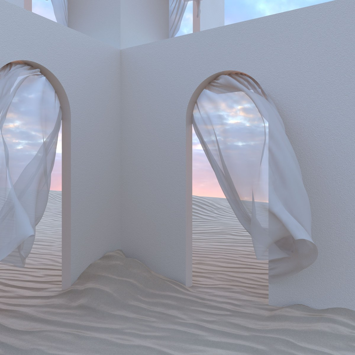 Digital-surrealists-Rebecca-Lee-Sand-Castle