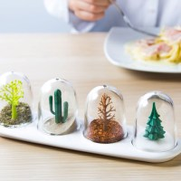 Spice Shakers Posing as Fun Snow Globes